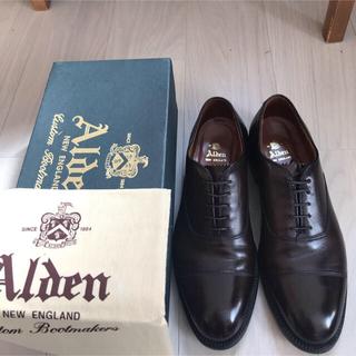 Alden - Alden 専用箱と袋付き  920US9 27cm ストレートチップ