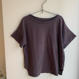 Bonpoint - monmimi モンミミ グレー Tシャツ フレンチスリーブ グレイッシュ