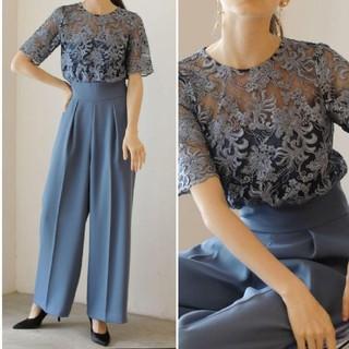 LagunaMoon - LADY オーバーレースワイドパンツドレス ◆ LAGUNAMOON