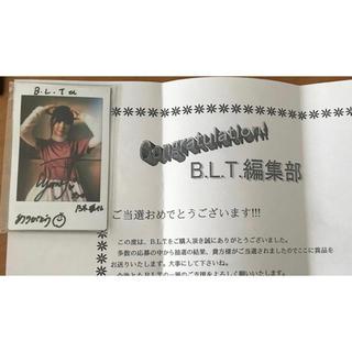 乃木坂46 - 乃木坂46 筒井あやめ 直筆サイン入りチェキ