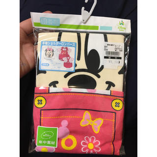 Disney - 新品激安半袖ショルダーロンパース2枚組ディズニーミニーマウス女の子ベビー出産準備