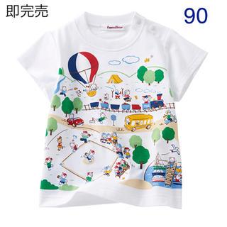 familiar - 【70周年特別企画】familiarファミちゃんTシャツ(半袖)90 即完売