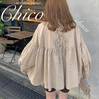 who's who Chico - 僅か⚠️新作🌷¥6490【Chico】クルーネックカフスAラインブラウス