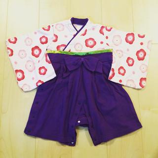 ベルメゾン(ベルメゾン)のベルメゾン♡袴オール90サイズ(和服/着物)