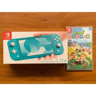 Nintendo Switch - 任天堂Switch light  どうぶつの森セット