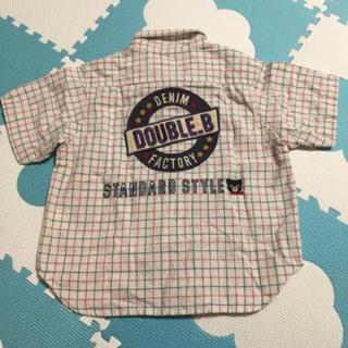 ダブルビー(DOUBLE.B)のミキハウス  ダブルビー シャツ(Tシャツ/カットソー)