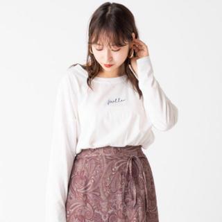 ミスティック(mystic)のシルケットロゴロンT🍒(Tシャツ(長袖/七分))
