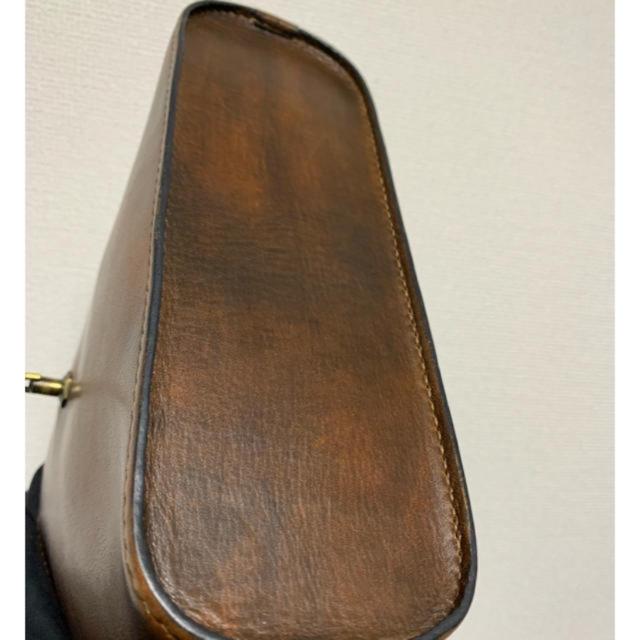 銀座「北欧の匠」 高級手縫い鞄 鞄職人 冨田実 レディースのバッグ(ショルダーバッグ)の商品写真