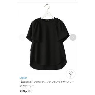 Drawer - Drawer 未使用品☆18SS☆テンジク フレアギャザースリーブ カットソー