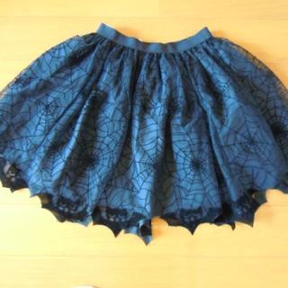 エイチアンドエム(H&M)のH&M 女の子用スカート ハロウィン仕様 黒 サイズEU128(スカート)