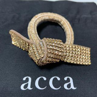 acca - アッカ リボンゴム ドレスポニー オードリー