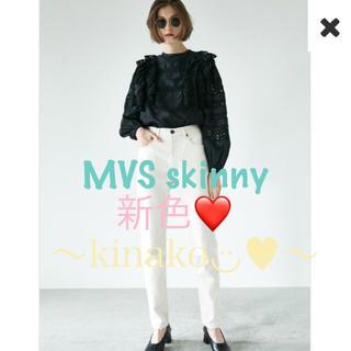 moussy - MOUSSY新作♡MVS WHT SKINNY♡mvsホワイトスキニーデニム新品