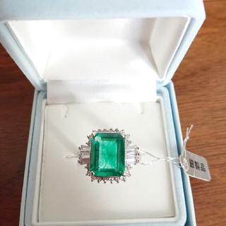 ジュエリーツツミ(JEWELRY TSUTSUMI)の❇️激安❇️ジュエリーツツミ宝石エメラルドの指輪(19号)(リング(指輪))
