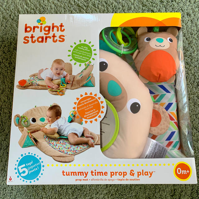 新品 bright starts プレイマット キッズ/ベビー/マタニティのおもちゃ(ベビージム)の商品写真