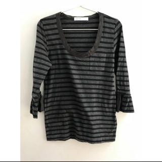 サカイラック(sacai luck)のsacai luck ボーダーTシャツ(Tシャツ(長袖/七分))