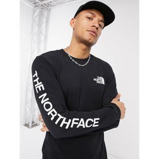 THE NORTH FACE - 【Mサイズ】新品タグ付き ノースフェイス ロゴ ロンT ブラック