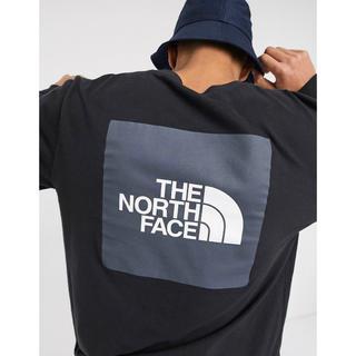 THE NORTH FACE - 【Mサイズ】THE NORTH FACE レッドボックス ロンT ブラック
