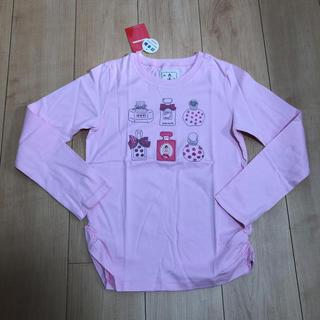 ミキハウス(mikihouse)のミキハウス リーナちゃんピンクロンT(140cm)(Tシャツ/カットソー)