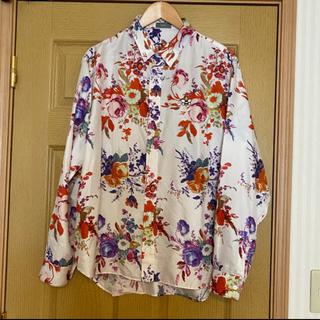 ディオールオム(DIOR HOMME)のDior HOMME Diorkaws シルクシャツ 39 19ss(シャツ)