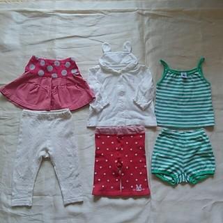 クーラクール(coeur a coeur)のまとめ売り 女の子 夏服 70~80cm クーラクールなど(その他)