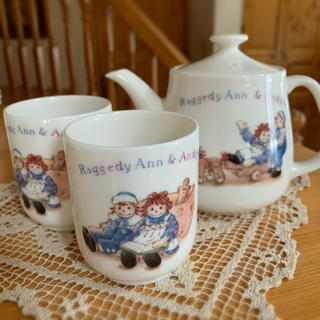 RAGGEDY ANN&ANDY ポットセット