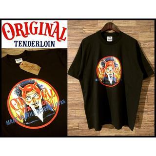 TENDERLOIN - 新品タグ付き テンダーロイン 19SS オールドニック プリント Tシャツ XL