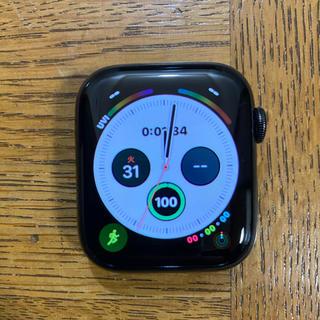 Apple Watch - Apple Watch Series4 44mm スペースブラック ステンレス