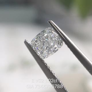 Gia付き1.02ctクッションカットダイヤモンドルース
