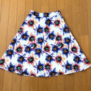 MURUA - MURUA スカート 花柄 ボタニカル