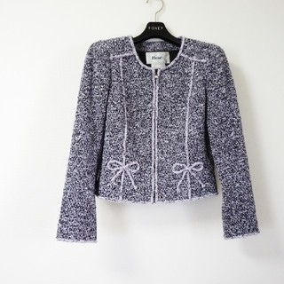 René - 極美品♡ルネ♡ツイードジャケット