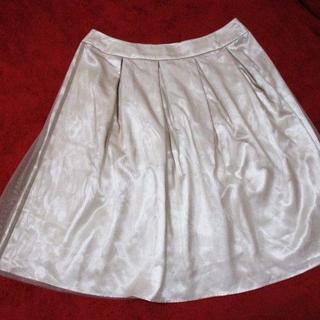 ソワール(SOIR)の15号 試着程度☆東京ソワール フォーマル スカート 大きいサイズ XL~(ひざ丈スカート)