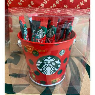 Starbucks Coffee - 新品 スターバックス ヴィア クリスマスブレンド 20本 バケツ缶付 スタバ