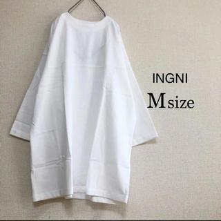 INGNI - INGNI ⭐️新品⭐️ 七分袖フットボールシャツ オフホワイト