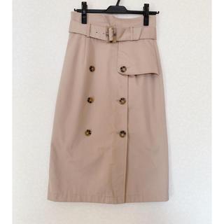 ダズリン(dazzlin)のdazzlin トレンチスカート(ひざ丈スカート)
