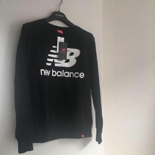 ニューバランス(New Balance)の新品未使用 ニューバランス 黒トレーナー (スウェット)