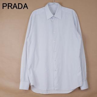 PRADA - メンズ PRADA プラダ 41 コットン100 イタリア製 長袖シャツ