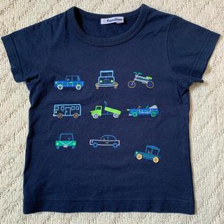 familiar - (100)美品☆ファミリア  Tシャツ