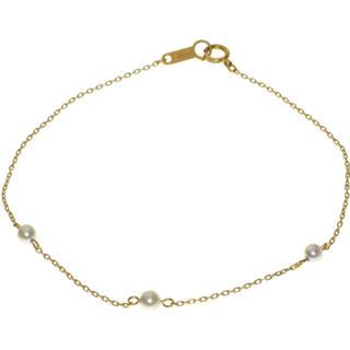 4℃ - 美品 4°C k18 YG パール ブレスレット ✨ 18金 真珠