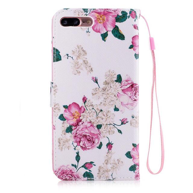 iPhone7 iPhone8 手帳型 バラ ピンク ローズ iPhoneケース スマホ/家電/カメラのスマホアクセサリー(iPhoneケース)の商品写真