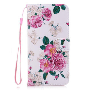 iPhone7 iPhone8 手帳型 バラ ピンク ローズ iPhoneケース