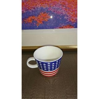 新品☆Sugar Land シュガーランド フラッグマグ 国旗 大きめマグカップ(グラス/カップ)