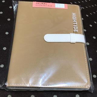 HIGHTIDE A6 スケジュール帳 手帳 ベージュ シンプル ビジネス 茶