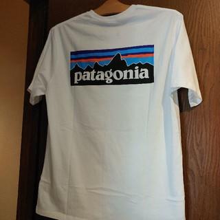patagonia - Patagonia♡パタゴニア 大人気 ロゴTee ホワイト S