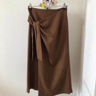 期間限定値引き!未使用タグ付き★巻き風タイトスカート