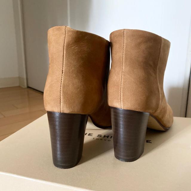 Shinzone(シンゾーン)のTHE SHINZONE 【新品未使用】 レザー ショートブーツ レディースの靴/シューズ(ブーツ)の商品写真