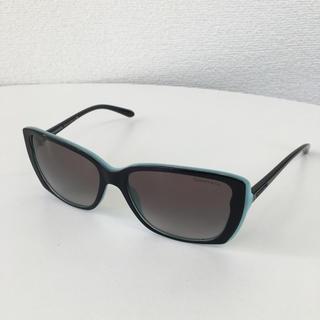 Tiffany & Co. - TIFFANY ティファニー サングラス フレーム ブラック/ターコイズブルー
