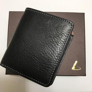 ツチヤカバンセイゾウジョ(土屋鞄製造所)の未使用品 土屋鞄製造所 URBANOコンパクトコインパース ブラック(折り財布)