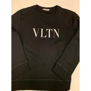 VALENTINO - 完売1回¥8.8万品 ヴァレンティノ スウェットシャツ クルーネック VLTN