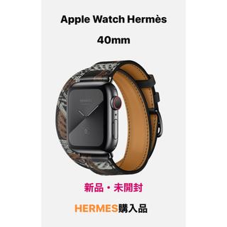 エルメス(Hermes)のApple Watch Hermès series5 40mm(腕時計(デジタル))