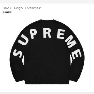 Supreme - Supreme Back Logo Sweater